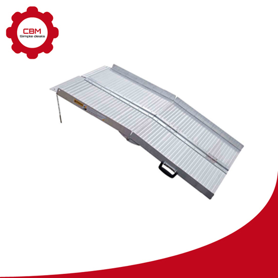 Multi-Fold Portable Wheelchair Ramps
